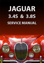 Jaguar 3.4S + 3.8S Workshop Repair Manual