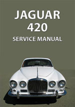 Jaguar 420 Workshop Repair Manual
