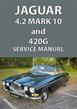 Jaguar 4.2 Mark 10 and 420G Workshop Repair Manual