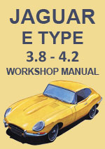 Jaguar 3.8 Series 1 & 2 Workshop Repair Manual