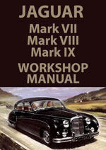 Jaguar MK7, MK8 + MK9 Workshop Repair Manual