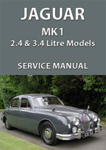 Jaguar 2.4 and 3.4 Mark 1 Workshop Manual