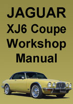 Jaguar XJ6 4.2 Series 2 Coupe Workshop Repair Manual