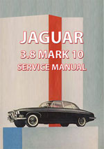 Jaguar MK10 3.8 Workshop Repair Manual